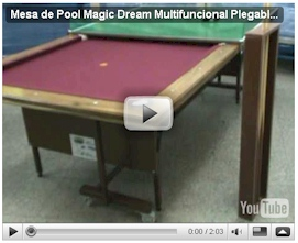 Ver video detalles generales de Mesa de Pool Magic Dream